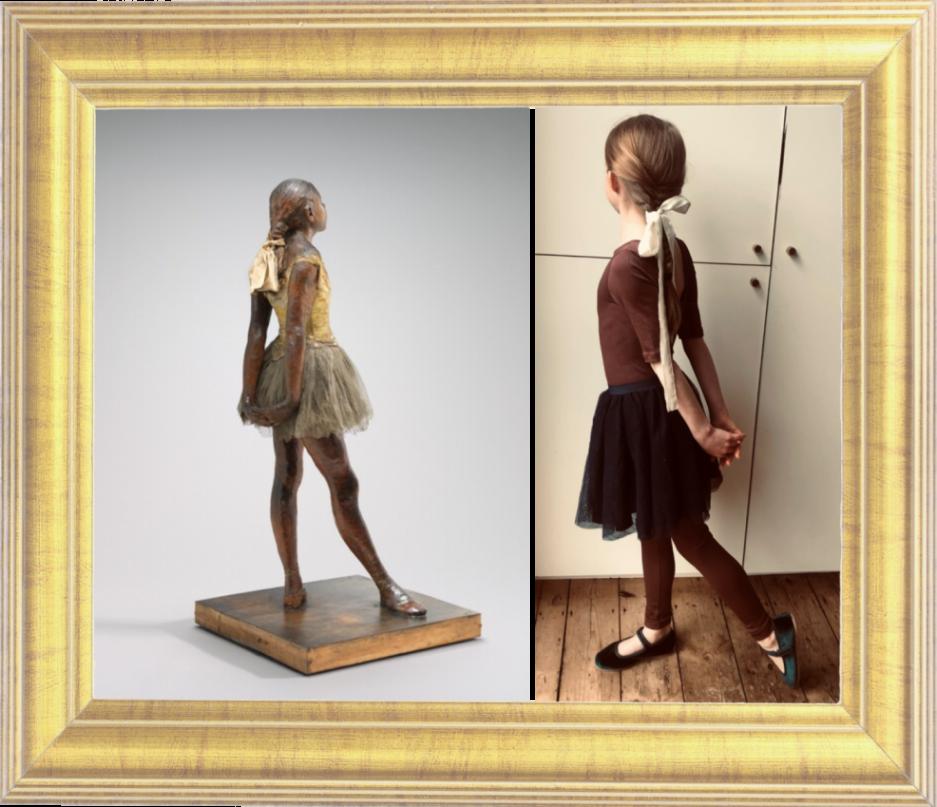 Little Dancer Aged 14 by Edgar Degas 1880-1 (Year 5)
