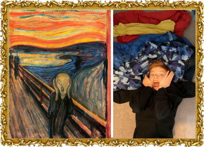 he Scream by Edvard Munch in 1893 (Year 5)