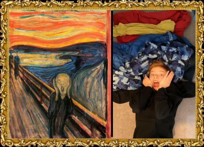 he Scream by Edvard Munch in 1893 (Year 5)