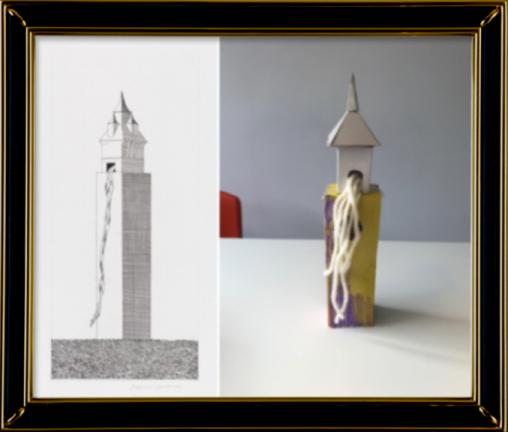 Rapunzel's Tower David Hockney 1969 (Reception)