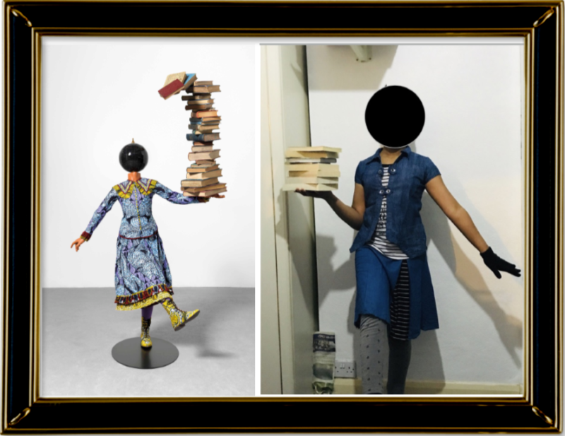 Girl Balancing Knowledge, Yinka Shonibare 2015, (Year 6)