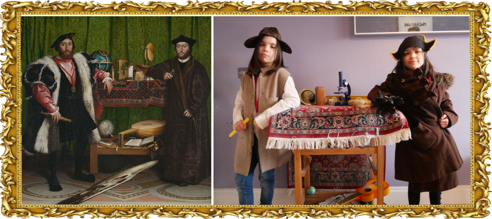 The Ambassadors by Hans Holbein the Younger 1533 (Year 6 & Year 3)
