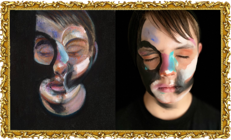 Self Portrait, Francis Bacon 1972, (Year 5)