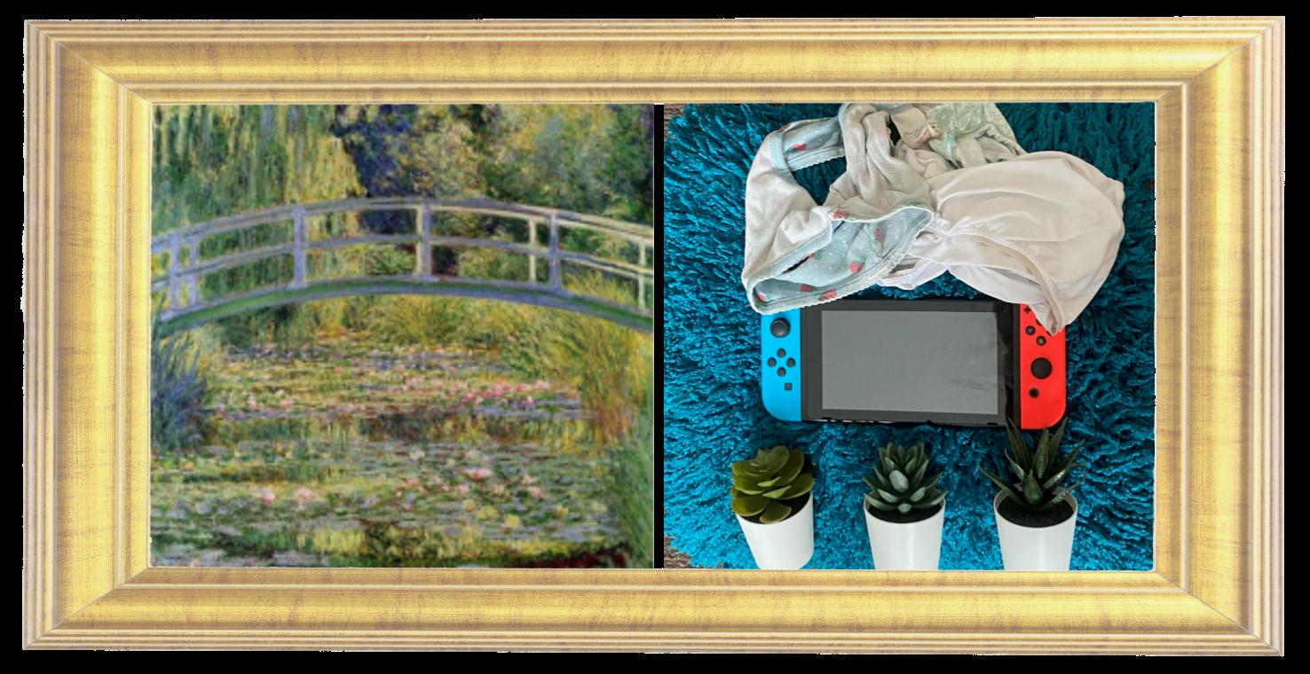 Waterlilies and Japanese Bridge by Claude Monet 1899 (Year 1)