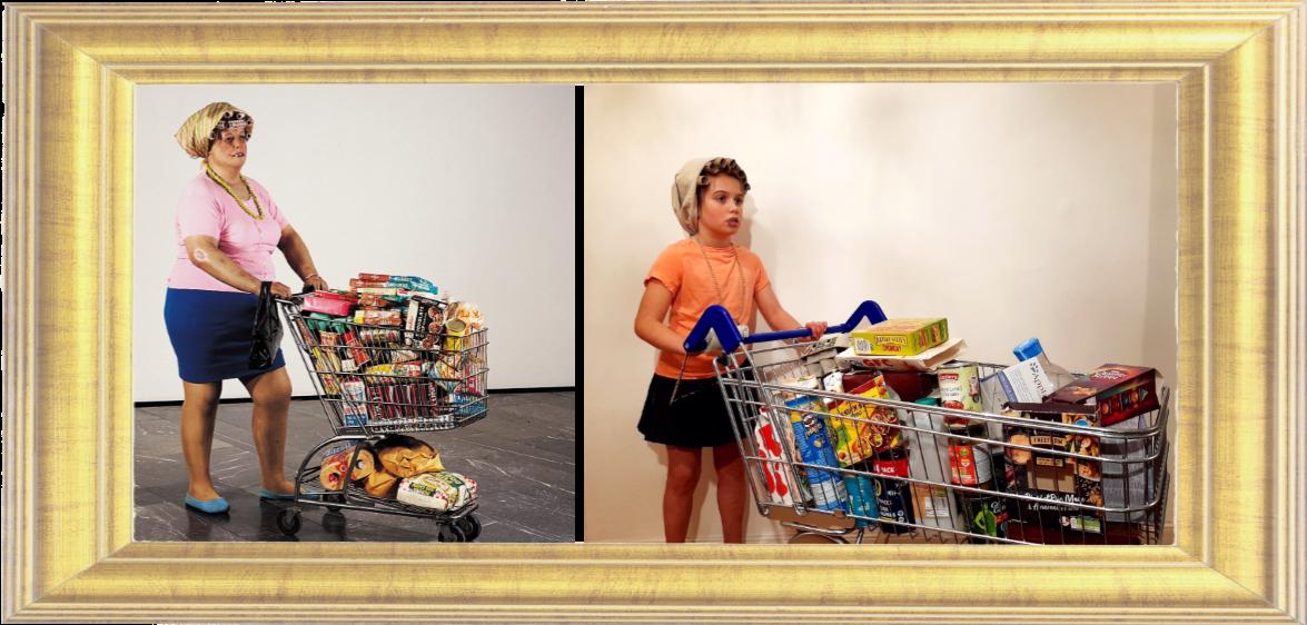 Supermarket Lady by Duane Hanson 1969-70 (Year 4)