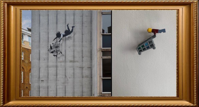 Shop Til You Drop by Banksy (Year 4)