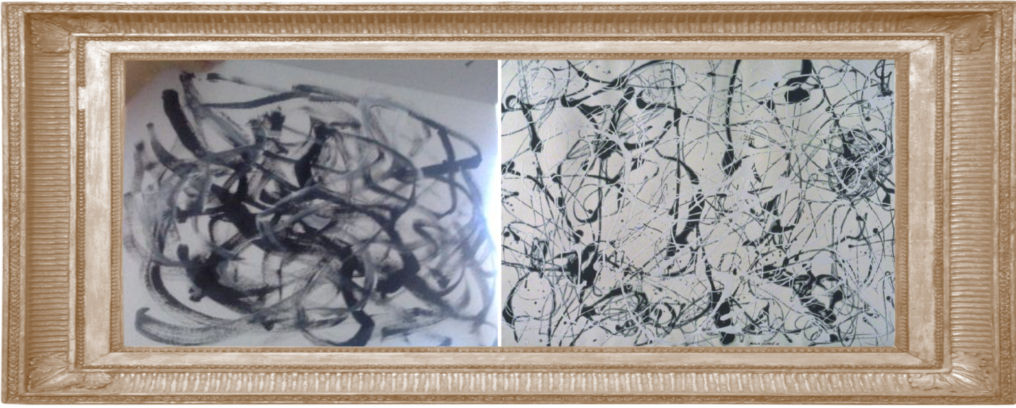 Number 23 by Jackson Pollock 1948 (Year 4)