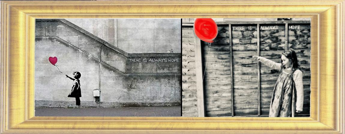 Balloon Girl by Banksy 2002 (Year 3)