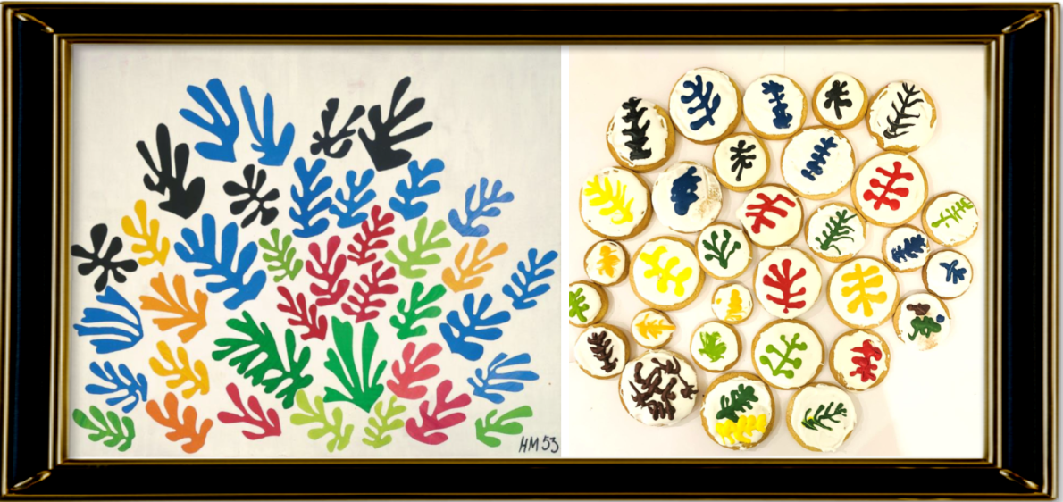 The Sheaf (Le Gerbe) by Henri Matisse 1953 (Year 3)