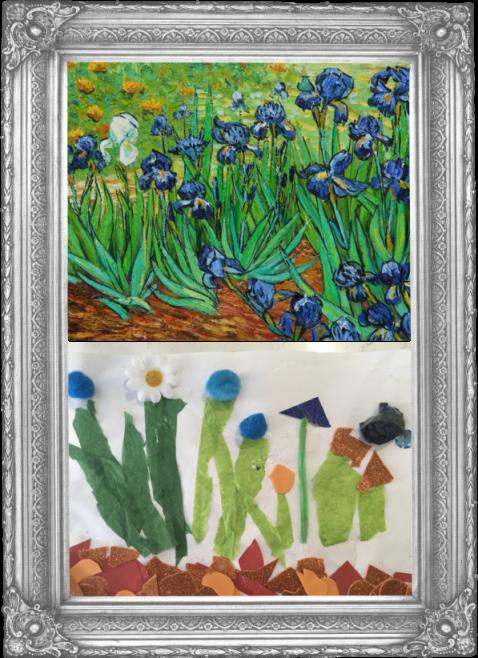 Irises by Vincent Van Gogh 1889 (Reception)