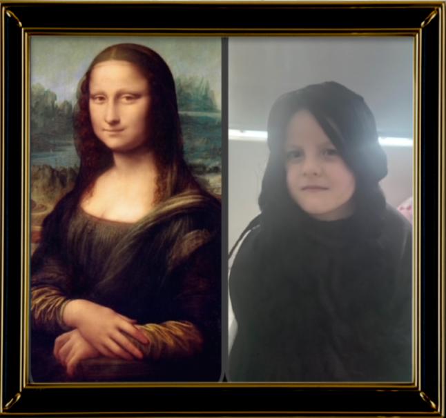 Mona Lisa by Leonardo da Vinci 1503 (Year 2)