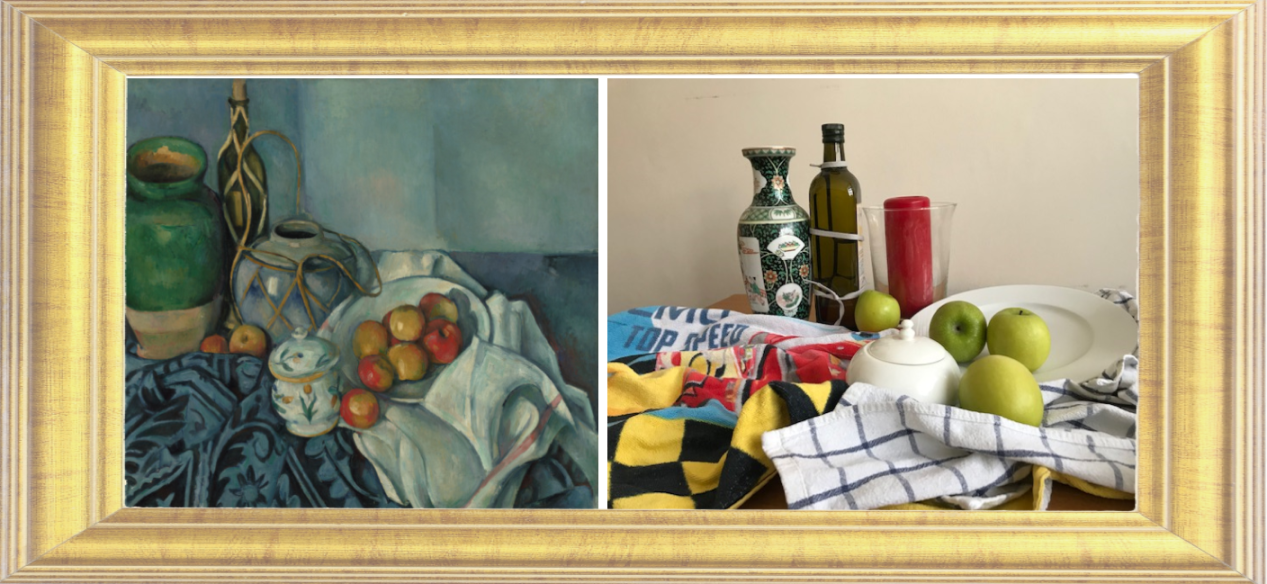 Still Life with Apples by Paul Cezanne 1893-1894 (Year 2)