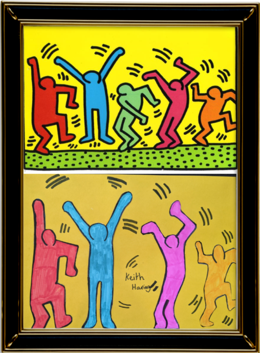 Untitled by Keith Haring 1987 (Year 6)