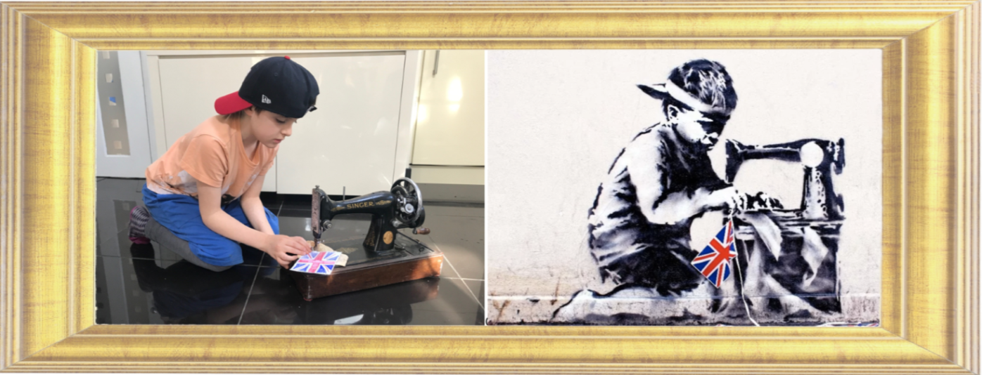 Slave Labour by Banksy 2012 (Year 3)