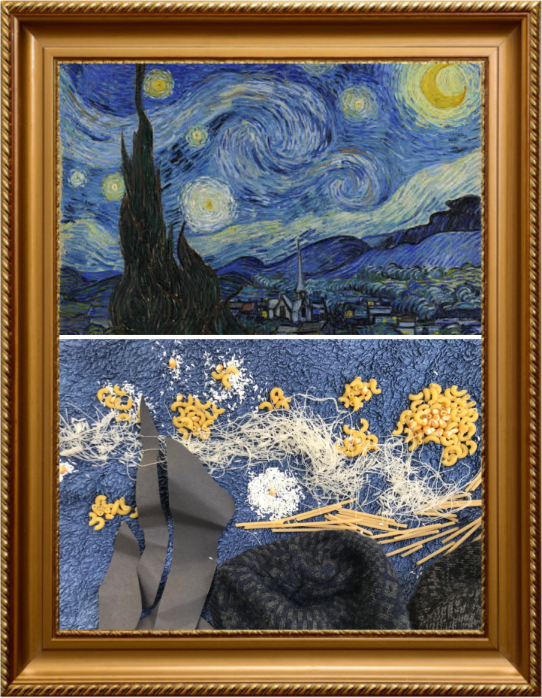 The Starry Night by Vincent Van Gogh 1889 (Year 2)