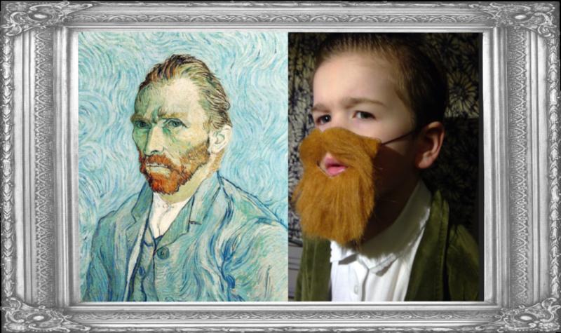Self Portrait by Vincent Van Gogh 1889 (Reception)