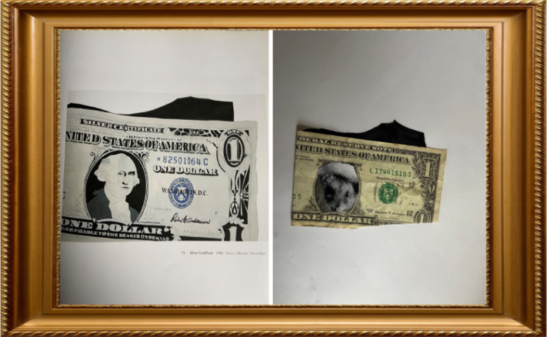 Silver Certificate by Andy Warhol 1962 (Year 4)