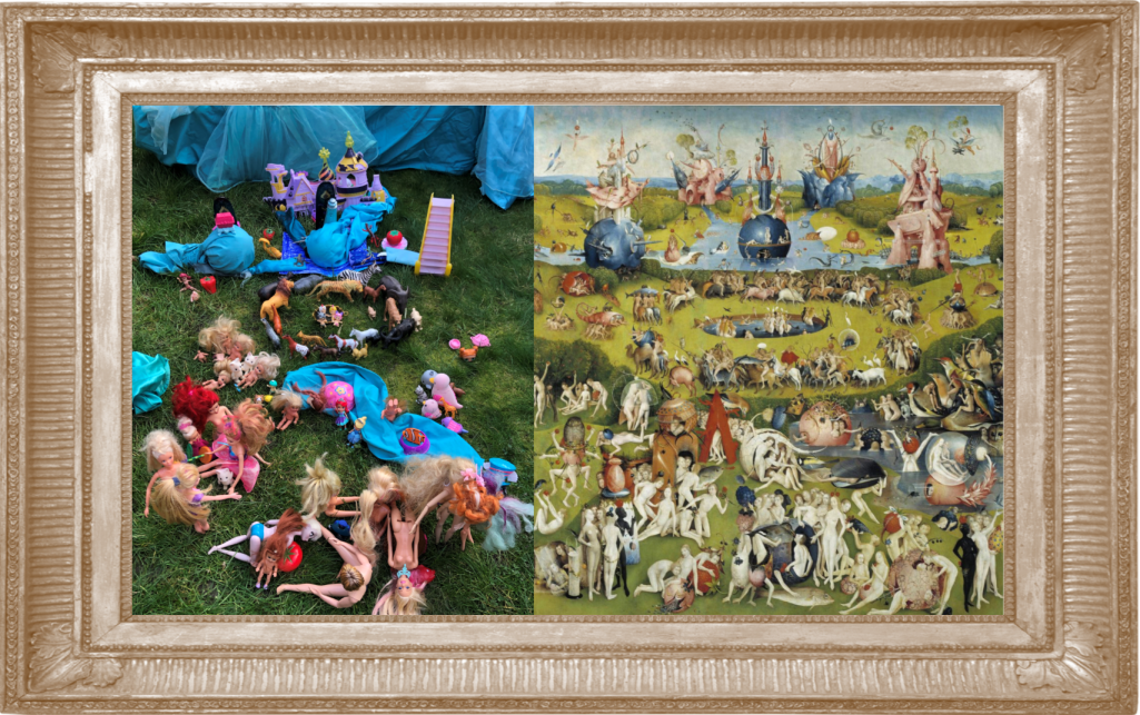 Zoe T5 The Garden of Earthly Delights by Hieronymus Bosch